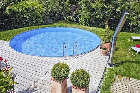 pool günstig selber bauen rundpool pool selber bauen pool ideen zum schwimmen und