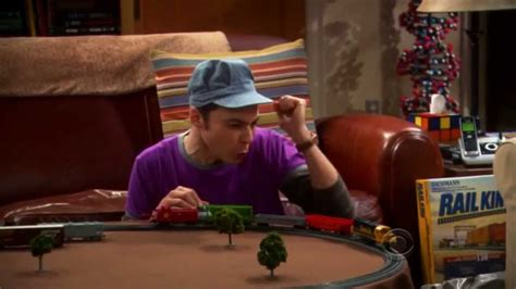 Image result for sheldon train