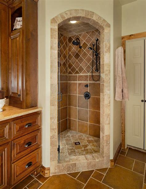 remodel shower stall bathroom traditional  arch shower