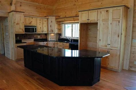 unfinished pine kitchen cabinets knotty pine cabinets loccie better homes gardens ideas 6634