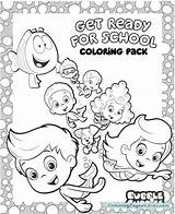 Guppies Bubble Coloring Pages Printable Splash Sheets Molly Bubbles Nick Jr Water Sheet Preschool Activities Guppy Colouring Books Printables Activity sketch template