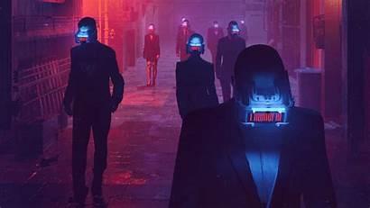 Cyberpunk Virtual Reality Digital Street Scifi Wallpapers