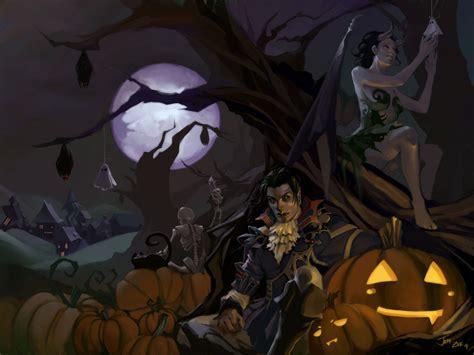 Halloween Pumpkin Backgrounds Desktop Halloween Computer Wallpapers Desktop Backgrounds 2560x1920 Id 312810