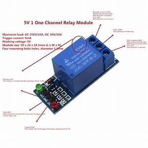 5v 1 One Channel Relay Module Low Level For Scm Household