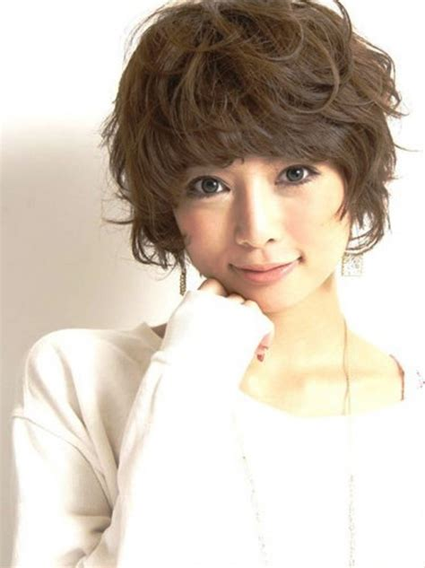 cute curly japanese hairstyle behairstylescom