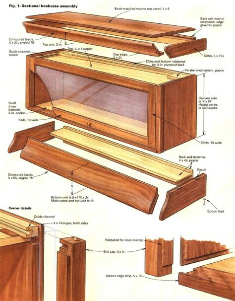 Lawyers Bookcase Plans - 25 best ideas about barrister bookcase on