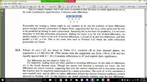 computing numerical
