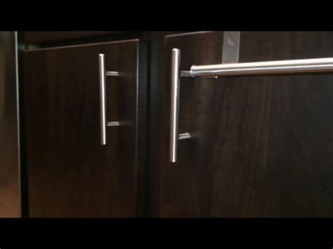 installing kitchen cabinets youtube how to install kitchen cabinet door handles youtube