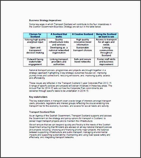 business travel plan sample sampletemplatess