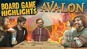 Board Game Highlights! #1 - Avalon: Nobody Trusts Trott ...