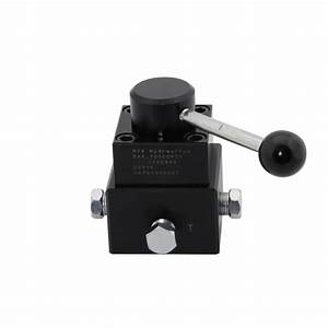 4 Way 3 Position Locking Double Acting Remote Mounted