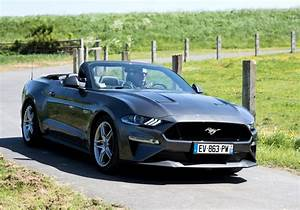 Ford Mustang Gt Cabrio : essai de la ford mustang gt cabriolet 2018 de mieux en mieux ~ Kayakingforconservation.com Haus und Dekorationen