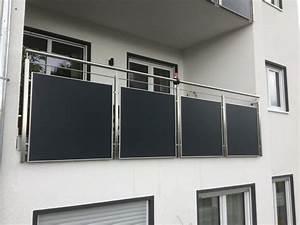 Edelstahl Sichtschutz Metall : montagebau marc zettl ungelochtes blech ~ Orissabook.com Haus und Dekorationen