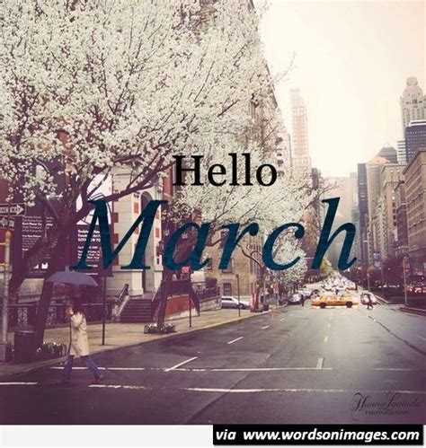 Hello march image free - Collection Of Inspiring Quotes ...