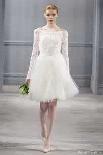 simple white dress for civil wedding lhuillier 2014 wedding dresses wedding inspirasi