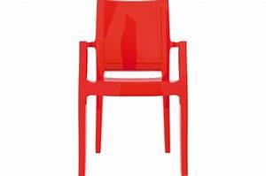 Chaise Rouge Design : chaise design rouge laqu e allia chaise design pas cher ~ Teatrodelosmanantiales.com Idées de Décoration