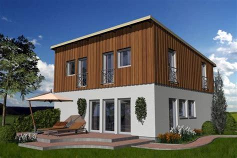 häuser mit pultdach fertighaus und massivhaus
