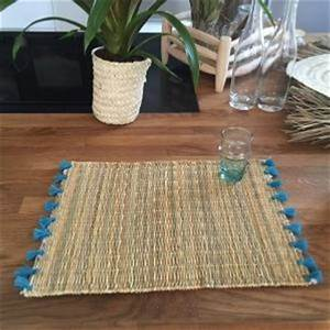 Set De Table Osier : set de table en osier fait main marrakech id es cadeau pas chers ~ Teatrodelosmanantiales.com Idées de Décoration
