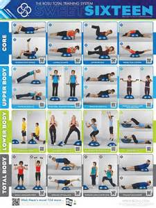 Bosu Workouts Exercises