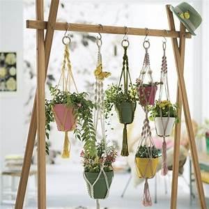 Suspension Pour Plante Interieur : v g tal suspension d int rieur au comptoir du jardinier ~ Teatrodelosmanantiales.com Idées de Décoration