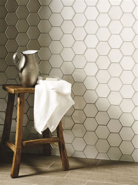 Tiles of Stow   Metallic Hexagon Glasss Tiles