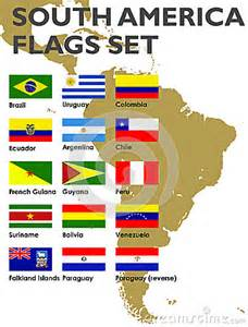 All South American Countries Flags
