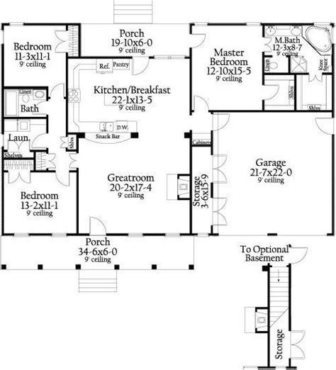1400 sq ft open floor plans Google Search Basement