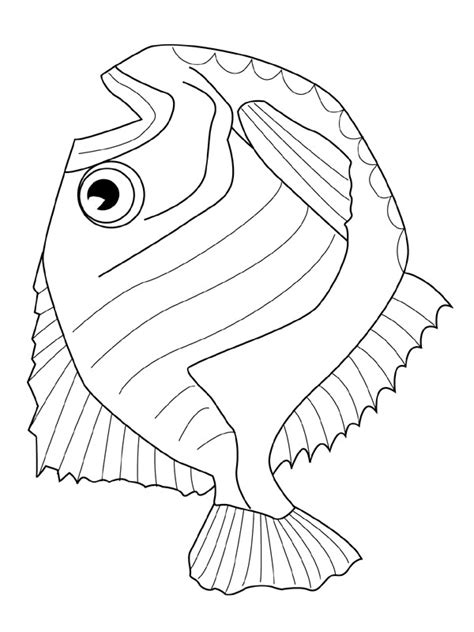 kids  funcom coloring page fish fish