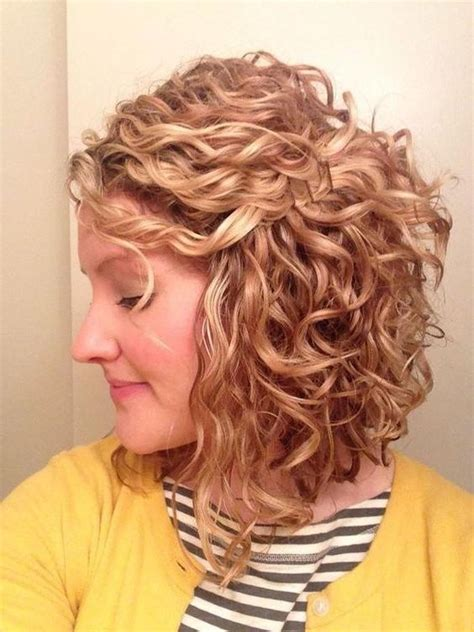 short hairstyles  thin curly hair