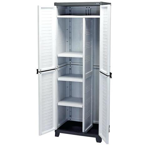 plastic storage cabinet office plastic garage storage cabinets garage