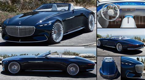 mercedes benz vision maybach  cabriolet concept