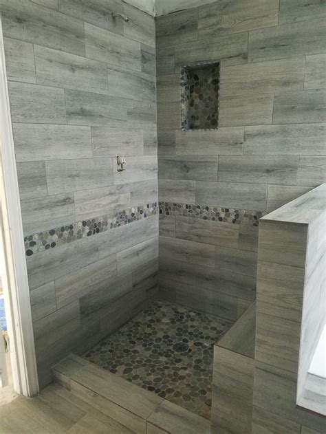 Best Tile For Bathroom Floor And Shower by 563 Best Bathroom Pebble Tile And Tile Ideas Images