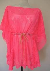 Summer Girl s Sheer Lace Loose Smocked Cardigan Mini Dress