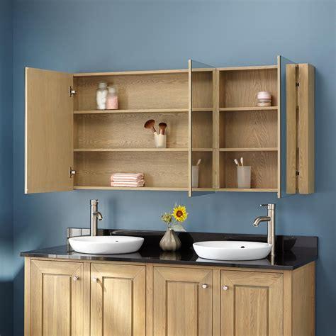 medicine cabinets bathrooms 60 quot vanity for undermount sink coastal wash 13614