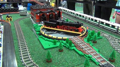 Lego Train And Slot Car Crashes