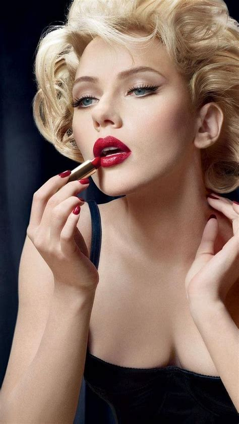 Pin on GREGORY CHANDLER-- RED LIPSTICK BLONDES