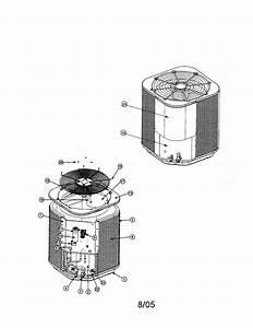 Nordyne Ac Condenser Model Fs5bd