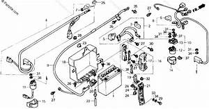 Honda Motorcycle 1990 Oem Parts Diagram For Battery  U0026 39 90