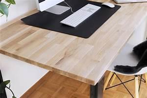 Schreibtisch Selber Bauen Arbeitsplatte : anleitung schreibtisch im industriestil selber bauen bonny und kleid ~ Eleganceandgraceweddings.com Haus und Dekorationen