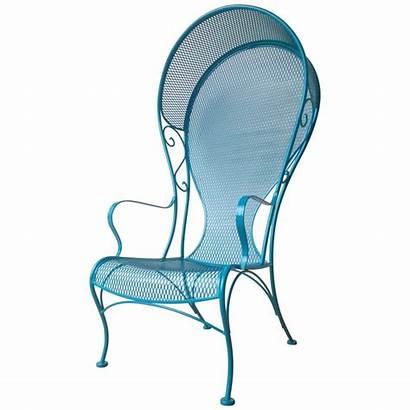 Mid Century Modern Patio Chair Woodard Canopy