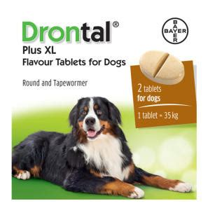 drontal  xl worming tablets  dogs chemist direct