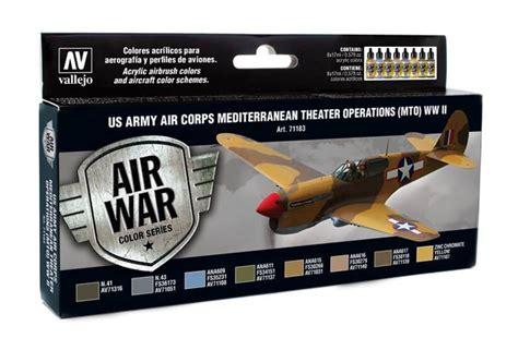 Air Color Us Army Mediteranean Theater Set