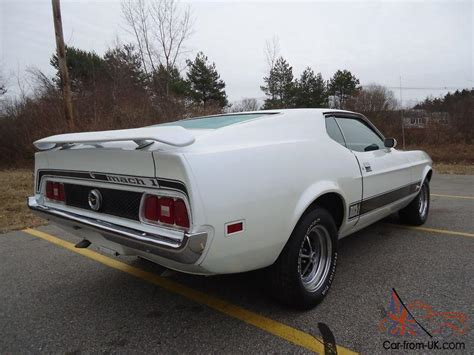 ford 1973 mach 1 mustang rare fastback bargain price