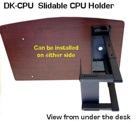 diy desk cpu holder dk cpu