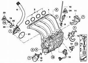 Original Parts For E91 318i N43 Touring    Engine   Intake