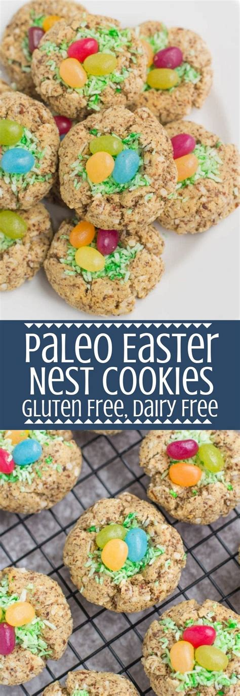 Here, 65 easter dessert recipes that will make your springtime celebration (chocolate eggs included). Paleo Easter Nest Cookies | Recipe | Paleo easter dessert ...