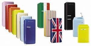 Réfrigérateur De Couleur : frigo couleur smeg choix d 39 lectrom nager ~ Premium-room.com Idées de Décoration