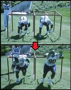 Defensive Line Drills - Building A Strong Base