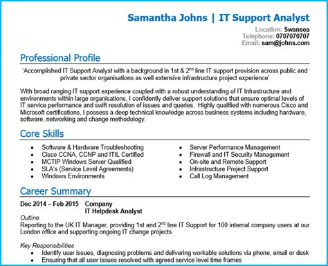 create a high impact cv in 4 simple steps professional