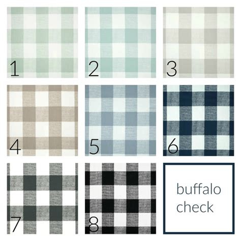 buffalo check drapery panels pair of two 63 84 90 96 108